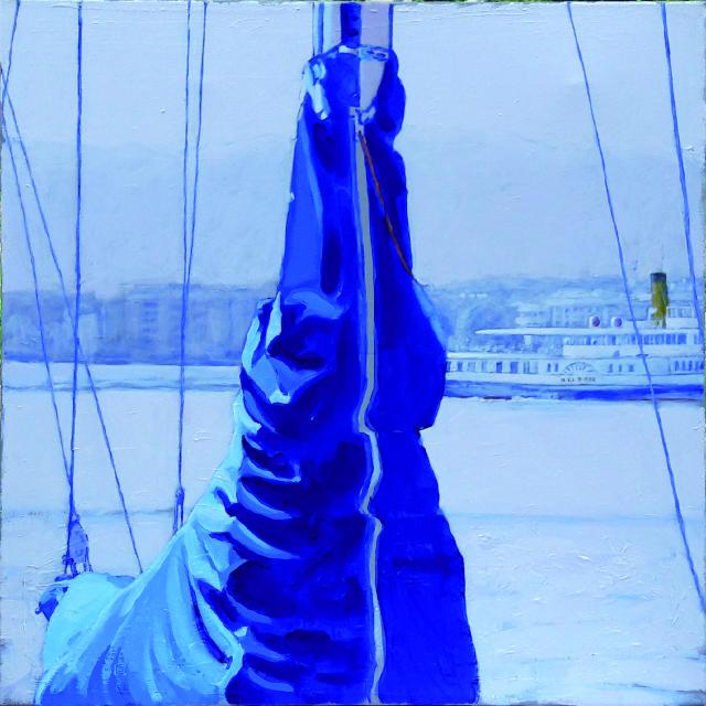 La housse bleue-65x65