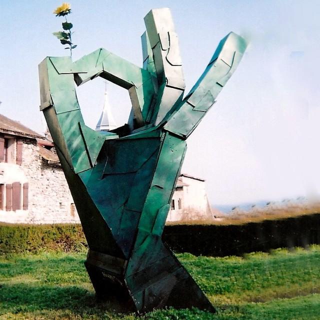 La main verte