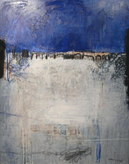 Pont Huile sur toile - 92 x 73 cm - 2003