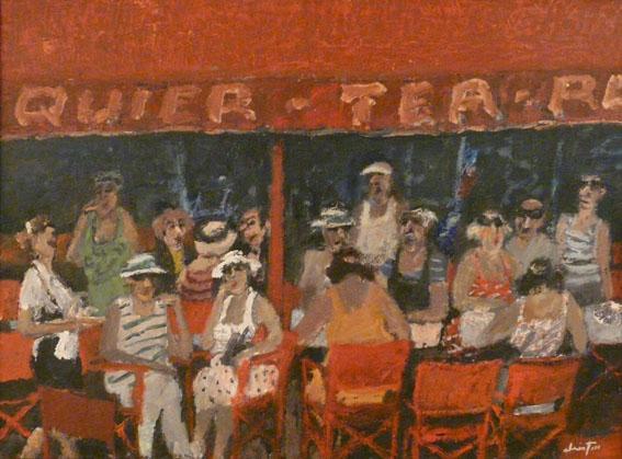 Sennequier, Saint-Tropez Huile sur toile - 60 x 81 cm - circa 1985