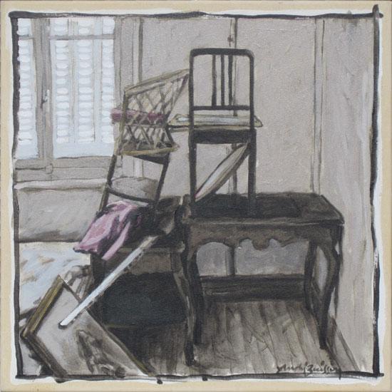 Acrylique sur toile 2011 - 45 x 45 cm