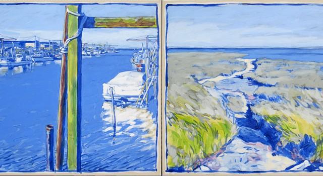 Acrylique sur toile 2011 - 2x 65 x 65 cm