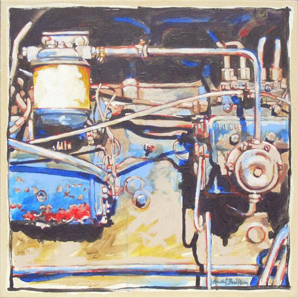 Acrylique sur toile 2011 - 65 x 65 cm