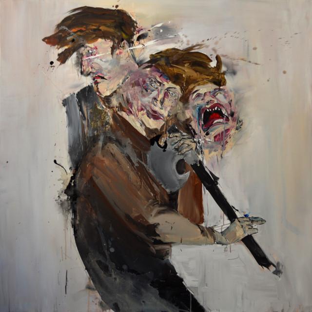 Raskolnikov (Crime et Chatiment)_100x100cm__CLUZEL