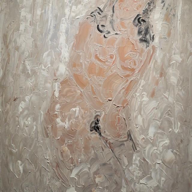 GAMBUS, Oh!, huile sur toile, 81x65 cm